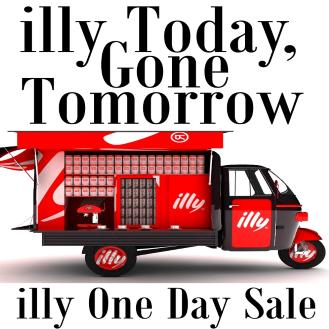 illy Flash sale